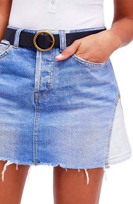 13 Covetable Denim Miniröcke zum Kick-Start Sommer: Tipps zum Styling Denim Minis